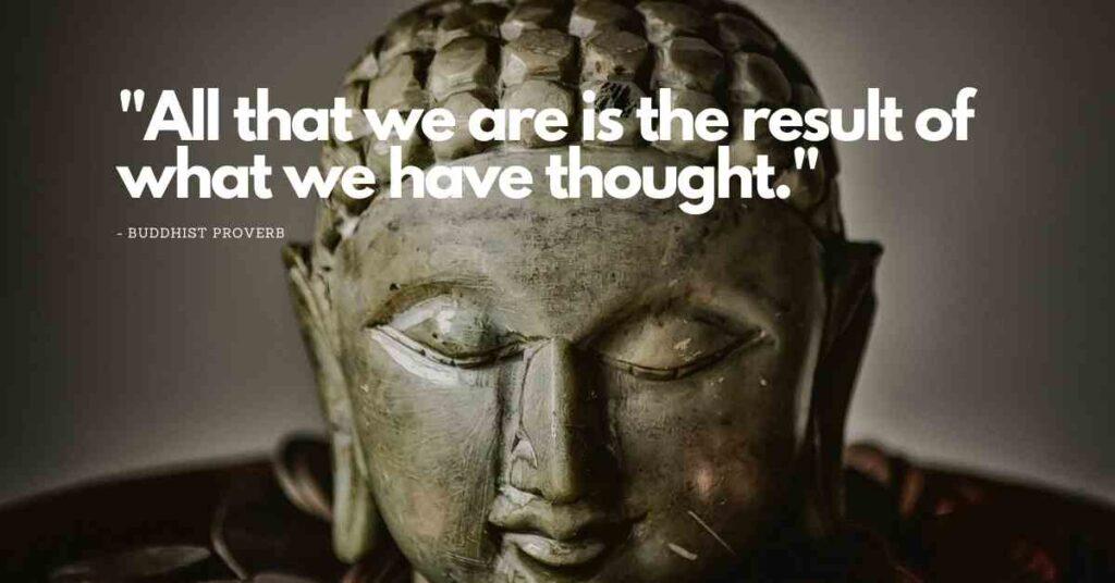 Buddha sayings death
