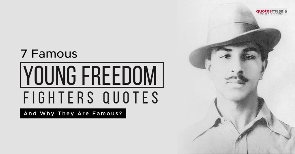 Young-freedom fighters India