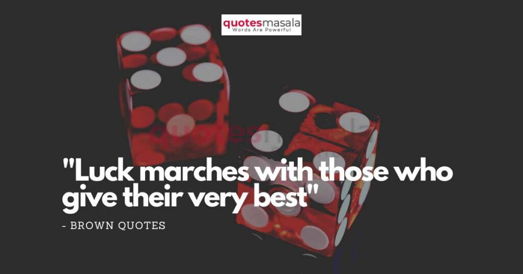 Quotes About Luck And Destiny