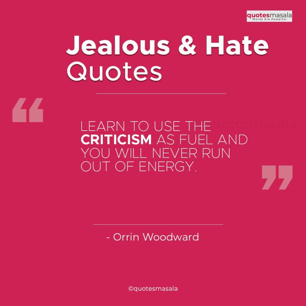 Haters And Jealousy Quotes Images