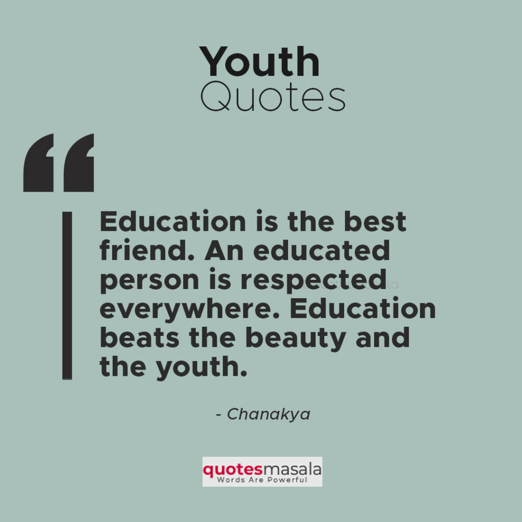Quotes On Youth Motivation With Images