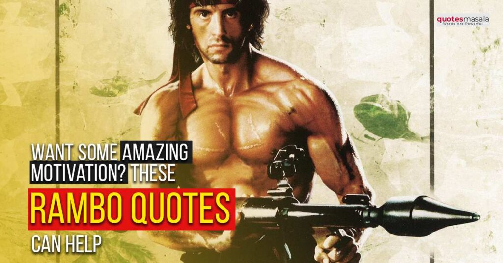 rambo quotes images