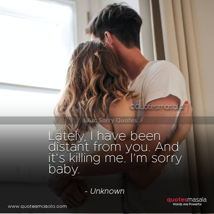 I am sorry quotes with images