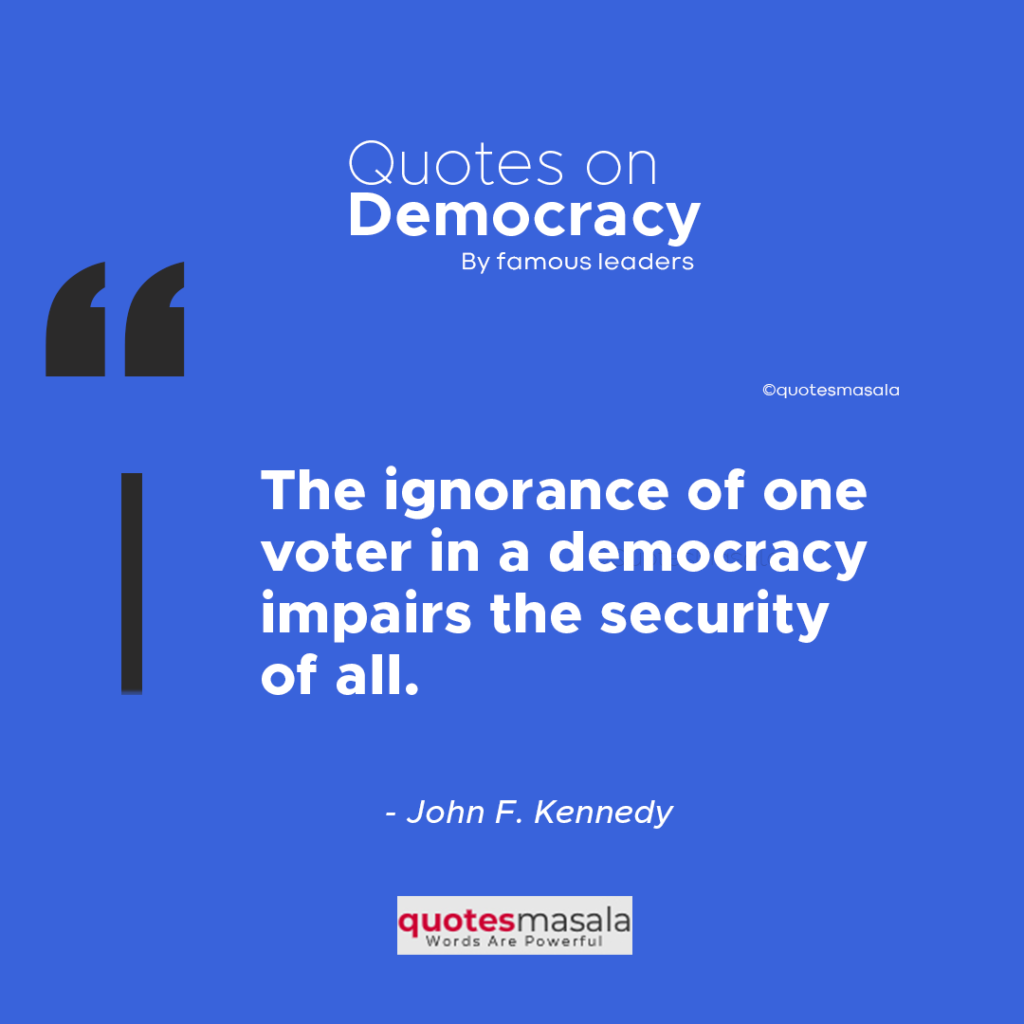 Quotes on Democracy images