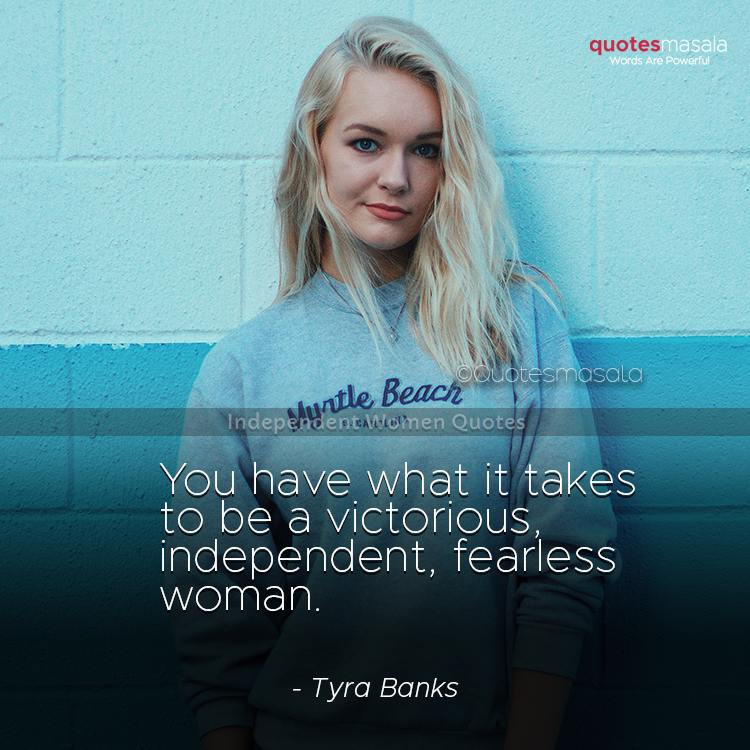 Independent women quotes with images