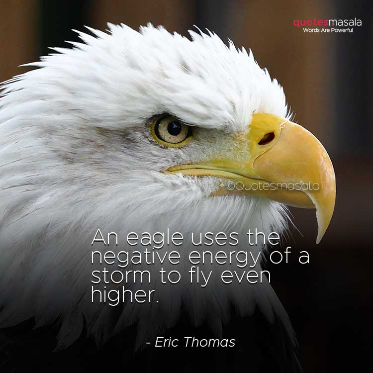 Motivational eagle quotes with images