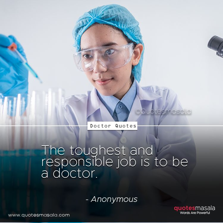 Quotes for doctors with images