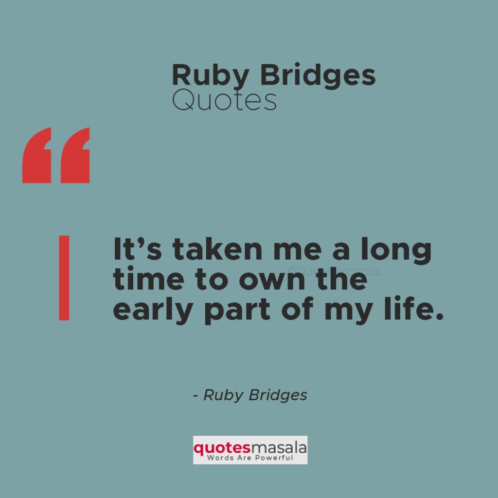 Ruby Bridges famous quotes images