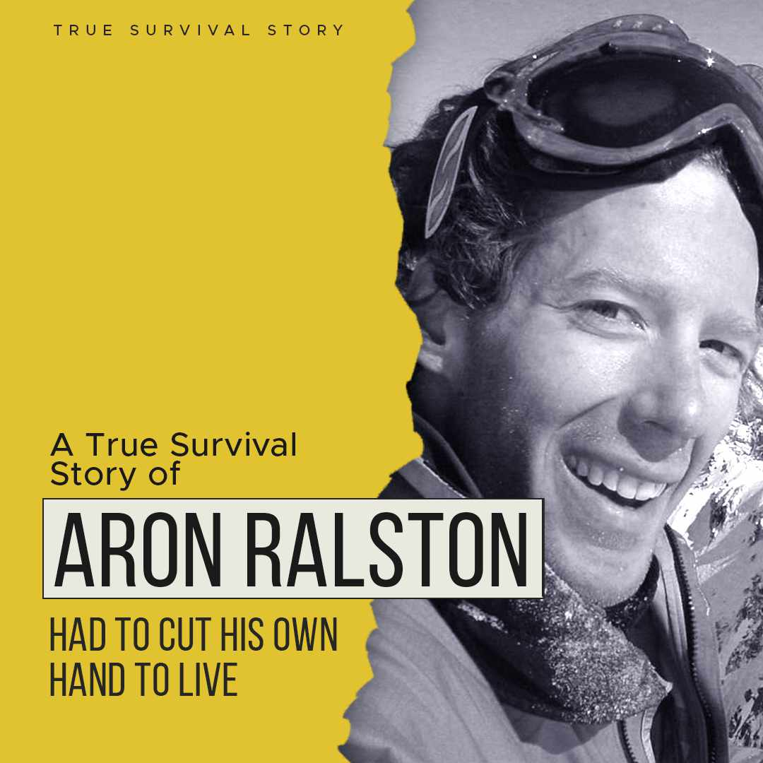 Story of Aron Ralston | Had To Cut His Own Hand To Live