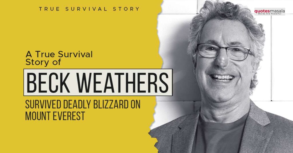 Story Of Beck Weathers
