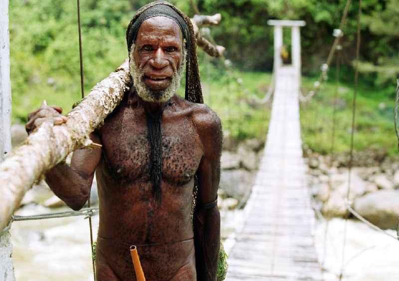 A Dani tribesman