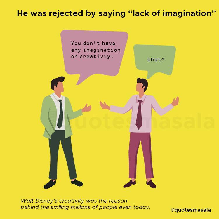 Illustration of Walk Disney being called- of imagination