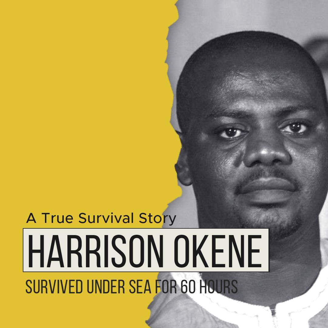 Story of Harrison Okene | Survived Under Sea For 60 Hours