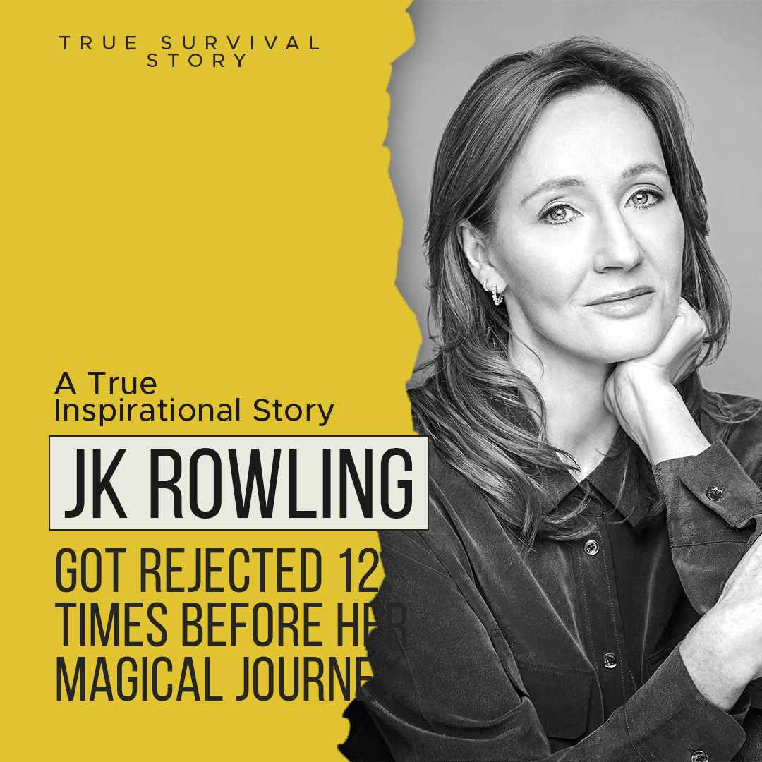 Story of JK Rowling | Got Rejected 12 Times Before Her Magical Journey
