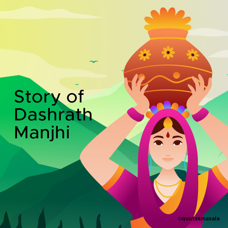 story of Dashrath Manjhi