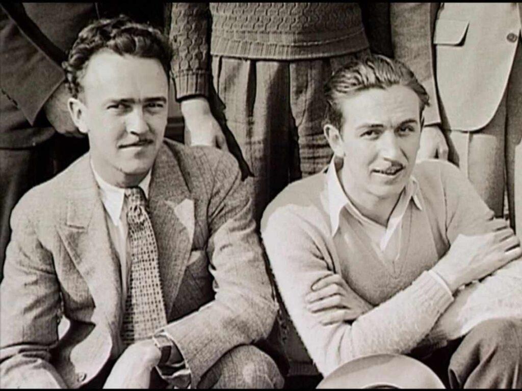 Walt Disney with Iwerks