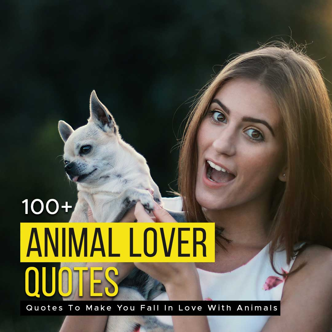 You are currently viewing 100+ Animal Lover Quotes To Make You Fall In Love With Animals