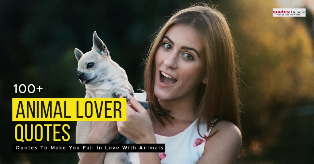 Animal lover quotes
