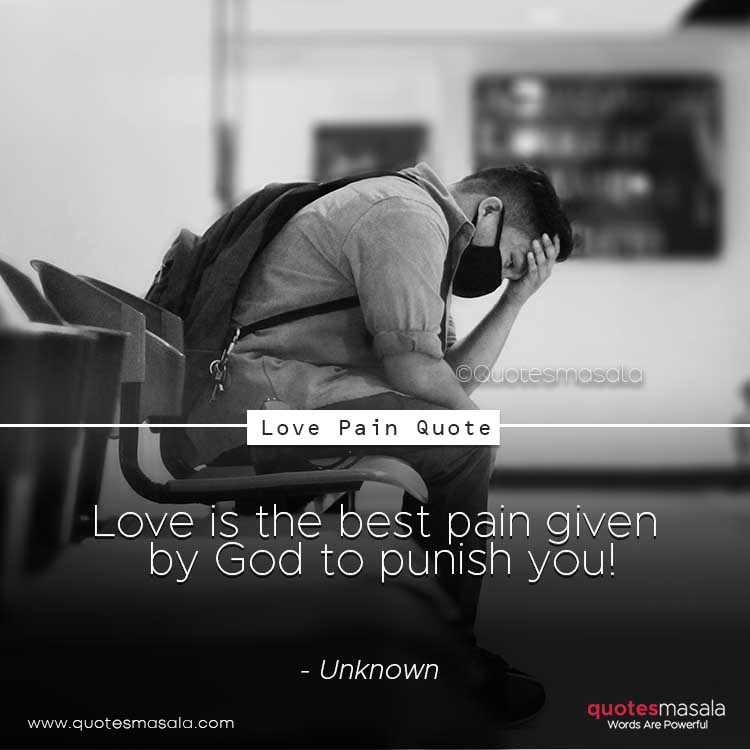 Love pain quotes