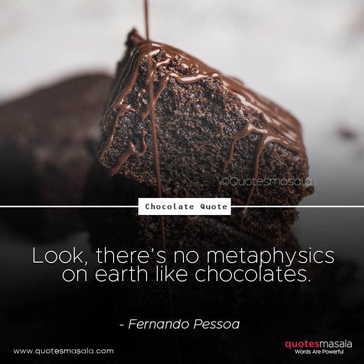 Chocolates quotes by Quotesmasala