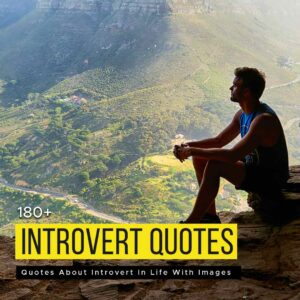 Read more about the article 180+ Quotes About Introvert In Life With Images