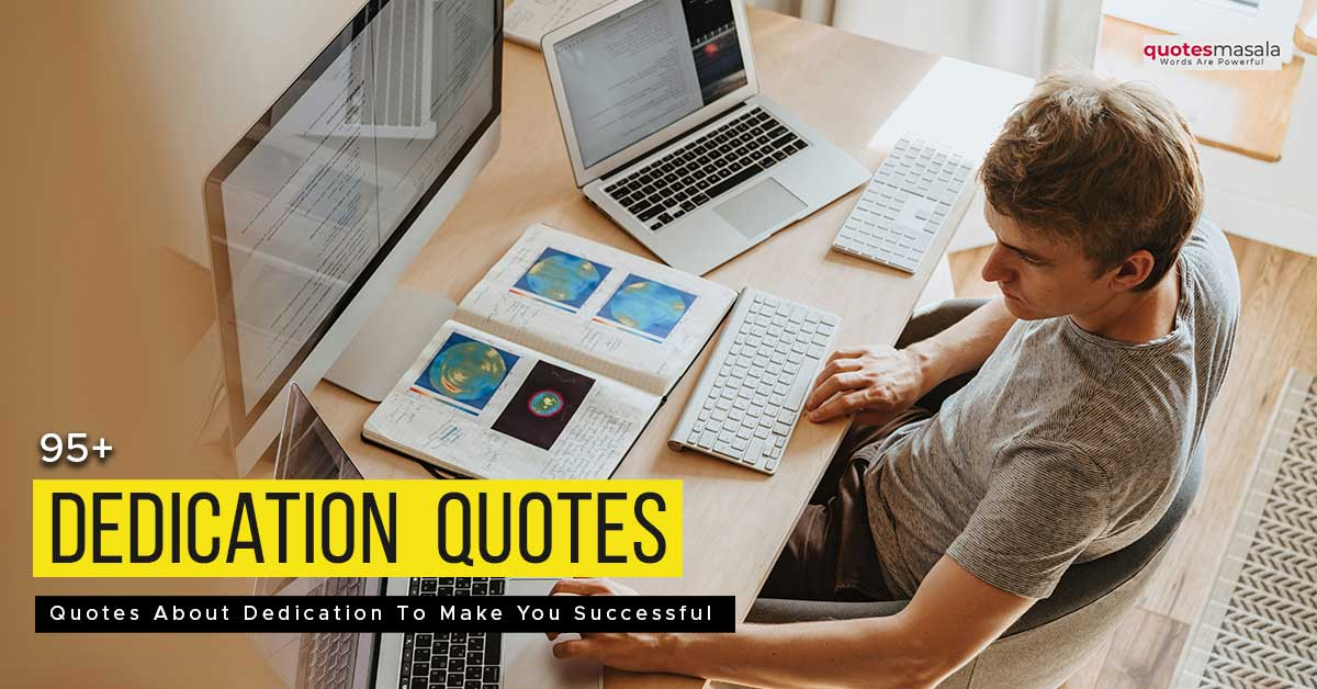 Quotes about dedication and commitmen